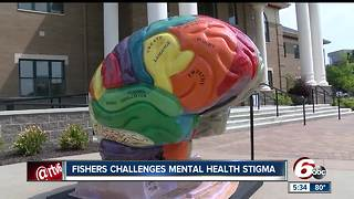 Fishers challenges mental health stigma - Video