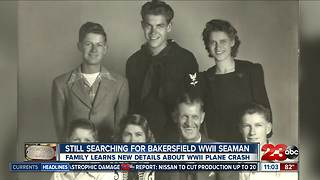 Local family still searching for WWII seaman - Video