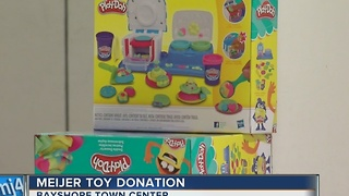 Meijer toy donation - Video