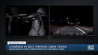 Charges in self-driving Uber crash