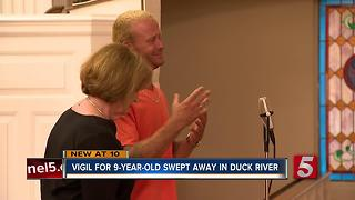 Candlelight Vigil Held For Boy Missing On Duck River - Video