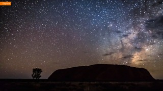 Australia's Spiritual Red Centre Captured in Chilling Timelapse - Video