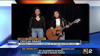 Good morning from local artists Cecilia Grace - Video