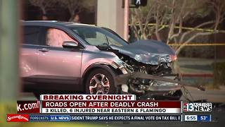 New info about fatal crash on Wednesday - Video