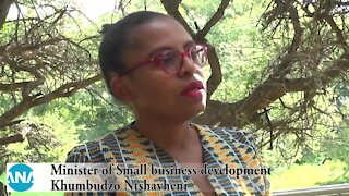 South Africa – Johannesburg – Minister of small business development (QgN)