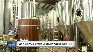 WNY brewers spark economy with every pint - Video