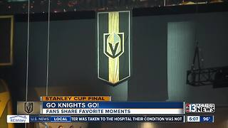 Golden Knights fans share favorite memories of season - Video