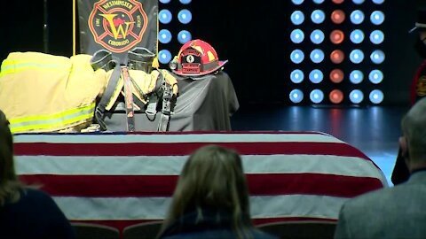Memorial Service for Westminster fire captain who died of work-related cancer