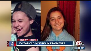 Frankfort police searching for missing 15-year-old - Video