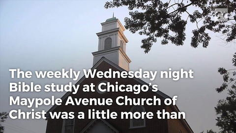 Robber Didn't Expect to Find Anyone Armed Inside Church... Boy Was He Wrong
