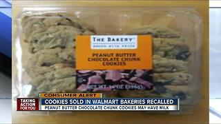 Cookies sold in Walmart bakeries recalled - Video