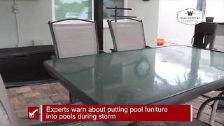 Prepare your pool before a storm | Prepare the inside of your home before a storm - Video