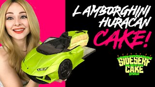 How to make a realistic Lamborghini cake | Huracan EVO Spyder