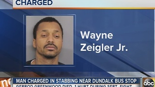 Man charged in stabbing at Dundalk bus stop - Video