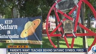 Man behind pentagram is a middle school teacher - Video