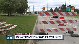 Construction projects scheduled for this weekend in metro Detroit