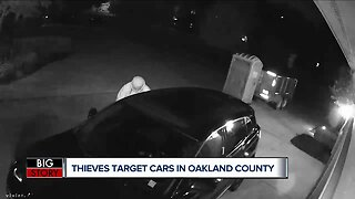 Thieves target cars in Oakland County