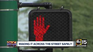 Operation Safe Roads: PHX officials making changes at crosswalks