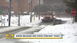 Akron releases new snow strategy today