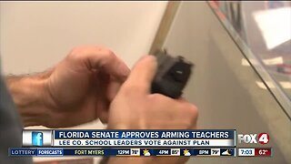 Lee County School Board votes unanimously against arming teachers