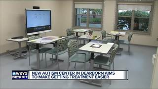 New autism center in metro Detroit aims to make getting treatment easier - Video