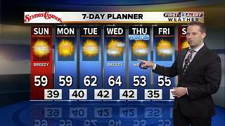 13 First Alert Weather for December 17 2017 - Video