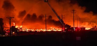 Firefighters in Reno battled 4 alarm fire overnight