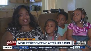 Mother still recovering after hit and run - Video