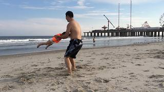 After Man Spins His Toddler Kiddo Seems Hilariously Lost - Video