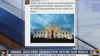 World AIDS Day is Dec. 1 - Video