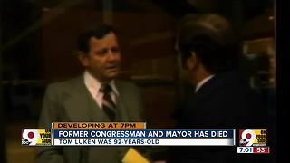 Former congressman and mayor has died - Video