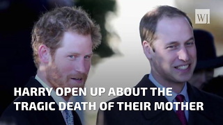 Prince William & Prince Harry Open Up About Their Mother's Tragic Death - Video