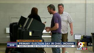 Voters take to polls on primary election day
