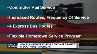 Wayne County Executive Warren C. Evans presents new transit plan - Video