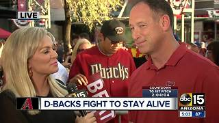 Luis Gonzalez talks Dbacks playoff baseball - Video
