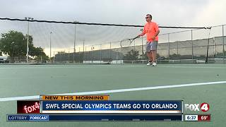 SWFL Special Olympics Athletes Prepare for Games - Video