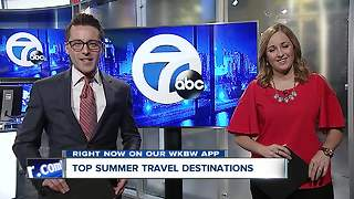 Top summer travel destinations - Video