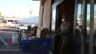 03/03/2021 Arizona National Guard continues to support local food banks