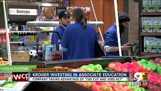 Kroger announces educational commitment to employees - Video