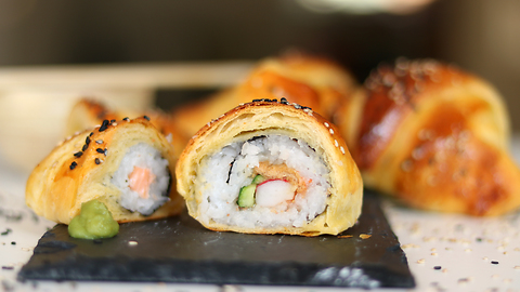 Sushi-filled croissants recipe: The perfect combination?