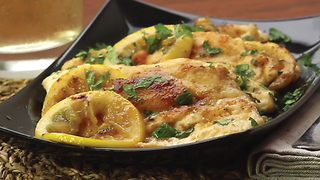 Lemon chicken skillet - Video