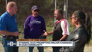 Detroit 2020 Persons of the Week: Two men strive to change their community - Video