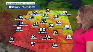 Warm week in the Valley with more 90s ahead!