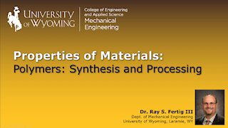 Polymers - Synthesis and Processing