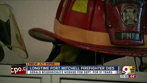 51-year firefighter passes away at age 78