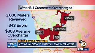 City of San Diego to inspect all 250K water meters - Video