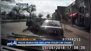Police looking for teen connected to stolen car spree - Video