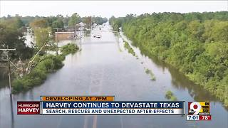 Harvey continues to devastate Texas