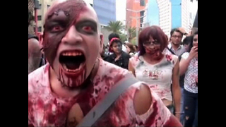 Zombie Horde Attempt World Record - Video