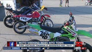 Moto-Weekend rides into town